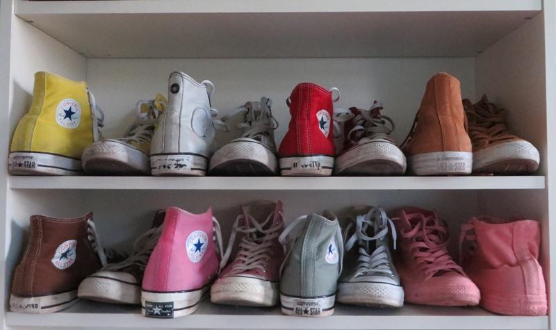 Schuhregal platzsparend