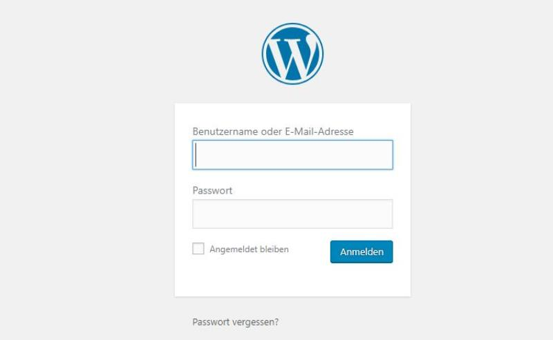 Bei WordPress einloggen anmelden - Happy Home Hamburg von Jessica