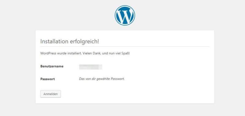 Wordpress ist installiert, geschafft - Happy Home Hamburg von Jessica