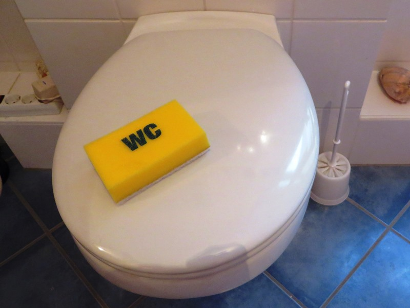 Putzschwamm WC Toilette - Happy Home Hamburg