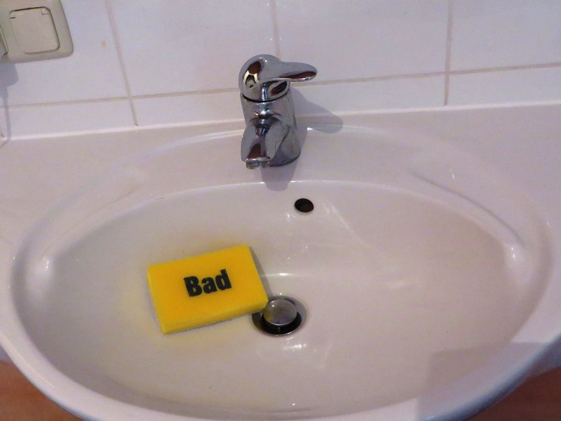 Putzschwamm Bad Badezimmer - Happy Home Hamburg