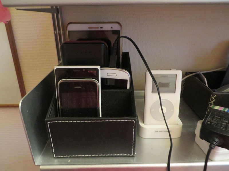 Ordnung Handy aufgeräumt Box