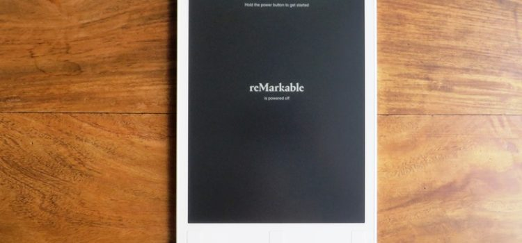 reMarkable – Digitales Notizbuch (auch Reader)