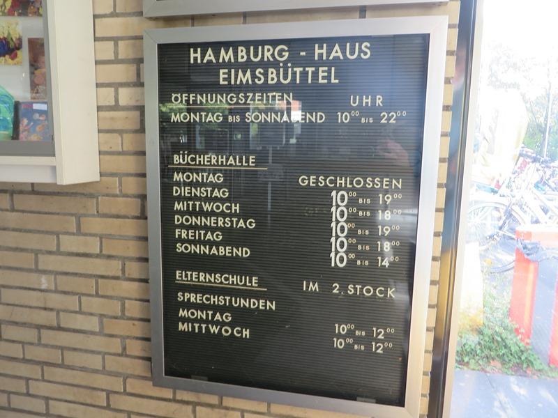 Öffnungszeiten Bücherhallen Hamburg