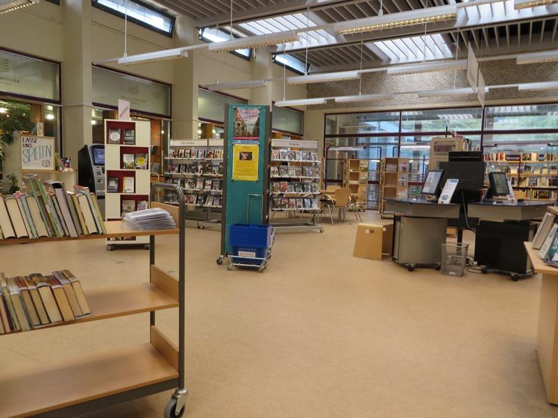 Bücherhalle Eimsbüttel Lesesaal