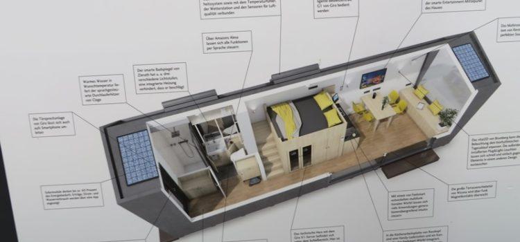 Tiny House 25 qm zum Wohnen